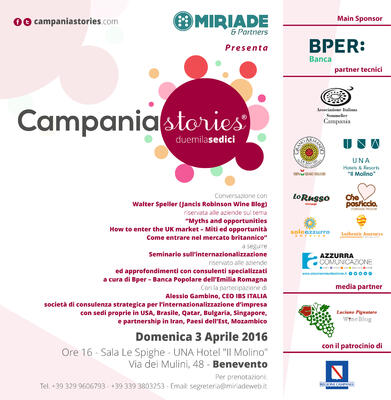 IBS a Campania Stories 2016